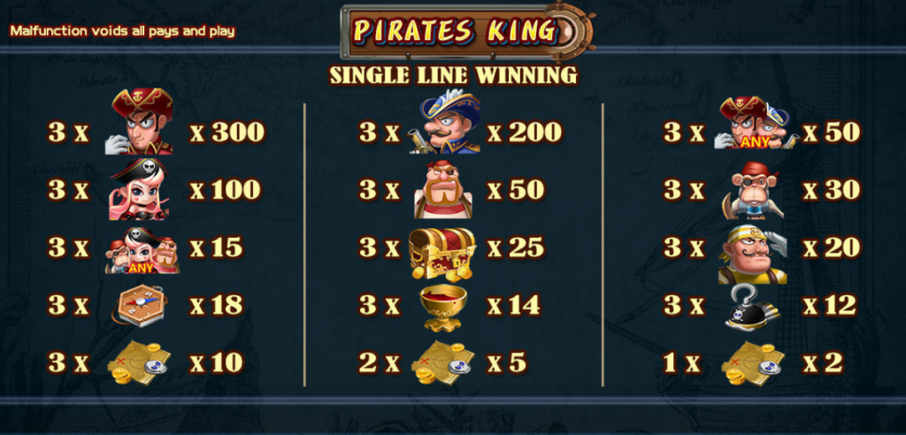 DeMacao PIRATES KING #2