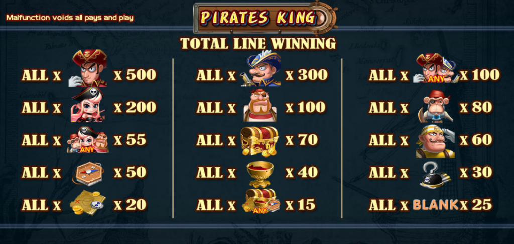 DeMacao PIRATES KING #3