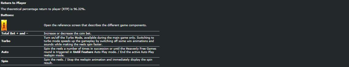 Playtech Heavenly Ruler3